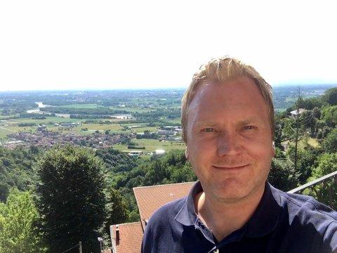 GOD MATCH: Håvard Grøm fant kjærligheten under OL i Torino og flyttet til Italia. Nå skal han hjelpe oppstartsselskaper med å vokse både i Norge og internasjonalt.