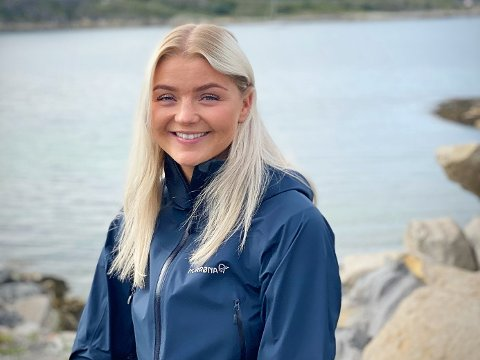 NY JOBB: Fra 15. september blir Ine Meland (23) en del av ledergruppen i Namdal Rensefisk.