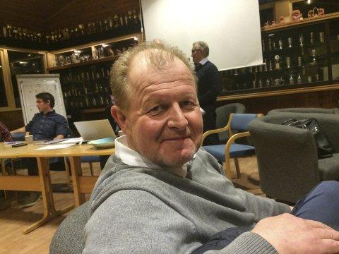 IKKE ENIGE: Styreleder Bjørn Kløvstad har foreløpig ikke klart å lande en sluttavtale med trener Espen Haug. Arkivfoto
