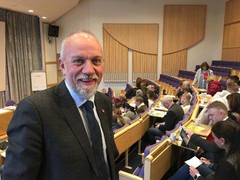 Morten Ørsal Johansen står fram som klimaskeptiker.