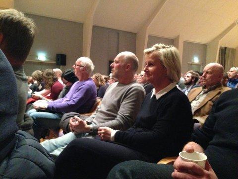 NEI: Mona Tholin i Søndre Land Sp sier de vil stemme nei til Vestoppland kommune.