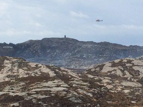 Et helikopter styrtet ved Turøy utenfor Bergen fredag. 13 mennesker som var på jobb for Statoil, mistet livet i ulykken. Foto: Marit Hommedal / NTB scanpix