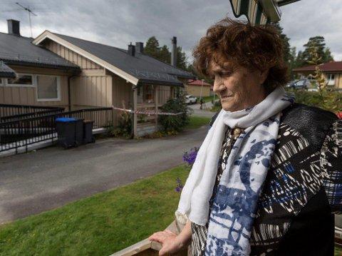 Martha Grønbekk var nabo med Nils Olav Bakken som ble funnet drept på Veståsen lørdag.