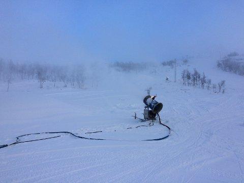 Tyin Filefjell skisenter åpnes for sesongen førstkommende lørdag. Foto: Tyin-Filefjell Utvikling