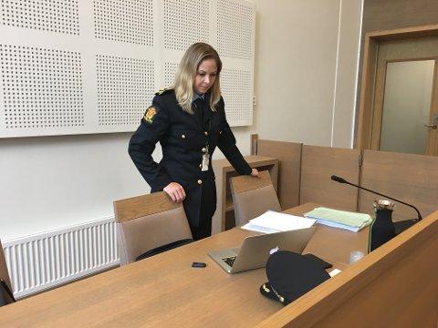 FENGSLINGSMØTE:Politiadvokat Ingveig Nøkleby ba om at begrunnelsen for kjennelsen, som kommer senere tirsdag, også holdes unna offentligheten.
