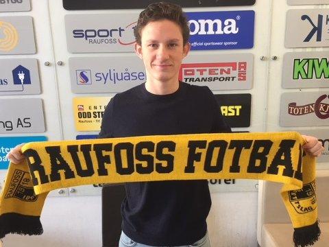 KLAR: Mathias Belli Moldskred har skrevet to års kontrakt med Raufoss Fotball.