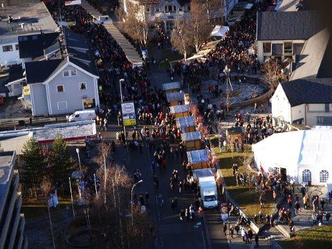 FULLBOOKA: Alt av utstillingsplasser er opptatt drøye do uker før festivalen.. ARKIVBILDE