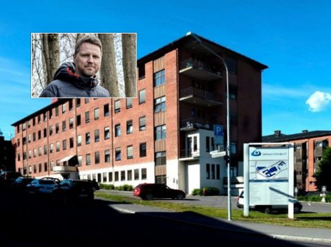 BLIR SJEF: Jan Robin Forreløkken Manstad blir 1. januar sjef for nyopprettet kreftavdeling ved sykehusene i Gjøvik og Lillehammer.