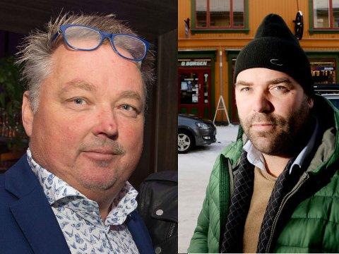 TOPPEN: Steffen Hellum og Birger Sand Bakke tjente begge over tjue millioner i fjor.