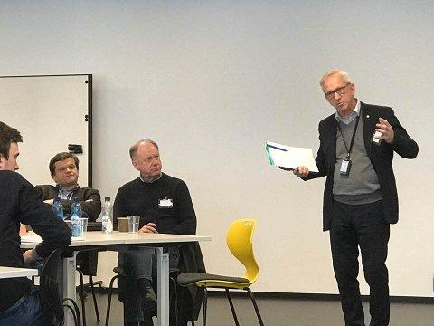 VERT: Viserktor Jørn Wroldsen byr Gjøvik-regionen og hele Innlandet med inn i spennenende samarbeid med NTNU. Det kan bety fart på innovasjon og samarbeid i regionen.