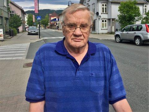ARG OG FORTVILET: Ola Ødegaard leverte krav om erstatning fra Levanger kommune på vegne av Torbjørn Skårstad, og ble arg og fortvilet da en politiker han hadde forventet at ville støtte kravet ikke gjorde det.