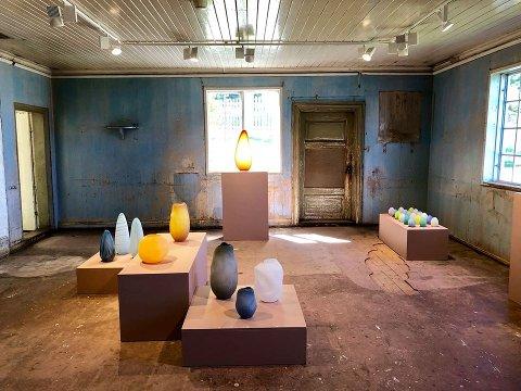 LANGÅPENT: Torsdag kan årets utstilling på Peder Balke-senteret nytes i tolv samfulle timer.