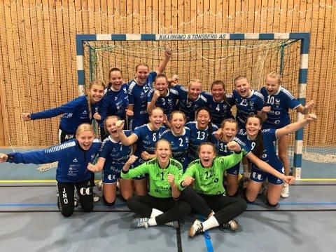 Gjøvik HKs jenter 16 kunne juble for avansement til Bringserien etter helgas kvalifisering i Meldalshallen i Trøndelag.
