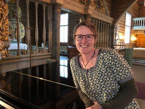 HELSE I HVER TONE: Hanne Moesgaard Skjesol har kjent hvor godt det gjør for kropp og sinn å synge.