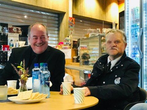KOMPISER: Eldar Vågan spesialinviterer Svein Enger og kompisene hans til den aller siste Vazelina-konserten i Fjellhallen 23. februar.