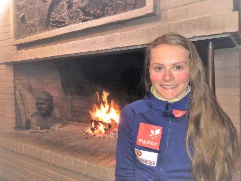 Mathilde Skjærdalen Myhrvold er klar for sesongåpningen i langrenn på Beitostølen.