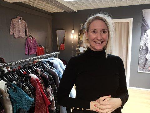 Butikkleder Guro Hammerstad gleder seg til å åpne butikken på CC i jula.