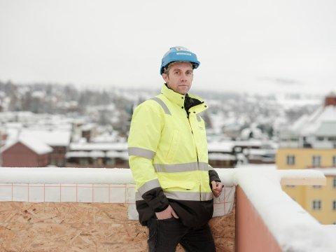 DIREKTØREN: Administrerende direktør Christian Rønning tok over ledelsen av Backe Oppland våren 2019.
