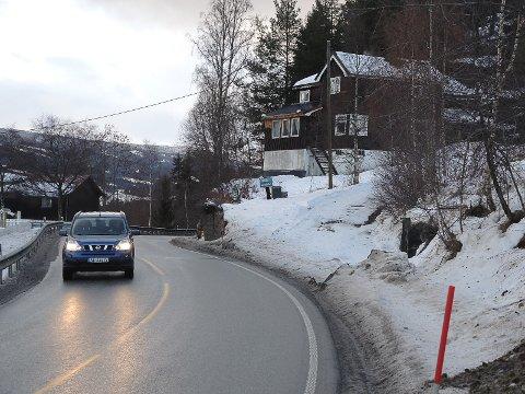 TRANGT: Flere hus kan forsvinne når E16 fra Fagernes til Øye i Vang skal få en strekningsvis utbedring.