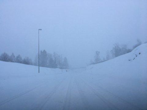 Trafikkproblemer på Østlandet.