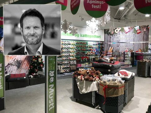 PÅ JAKT ETTER ANSATTE: Musti Norge averterer i disse dager etter daglig leder og ansatte til sin nye dyrebutikk på Gjøvik.  Bildet er fra en annen butikkåpning.