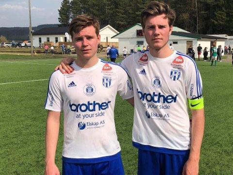 Brødrene Håvard og Hans Marius Drager scoret to av målene da Reinsvoll slo Furnes.