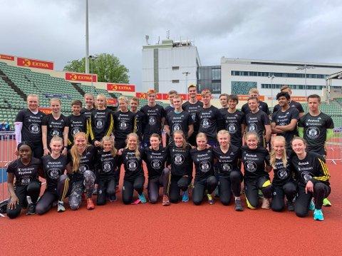 Raufoss løp inn til sjetteplass i kvinner junior og niendeplass i menn junior i Holmekollstafetten lørdag.