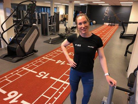 UTVIDER: Anja Bekkemellem og Mudo Gjøvik utvider lokalene og satser friskt etter en vanskelig periode med medlemstap.