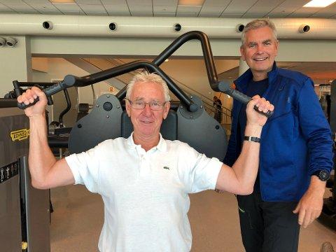 Erik Følling begynte å trene hos Cato Bakkemo på 360 grader for to og et halvt år siden. Det mener 69-åringen har gitt resultater.
