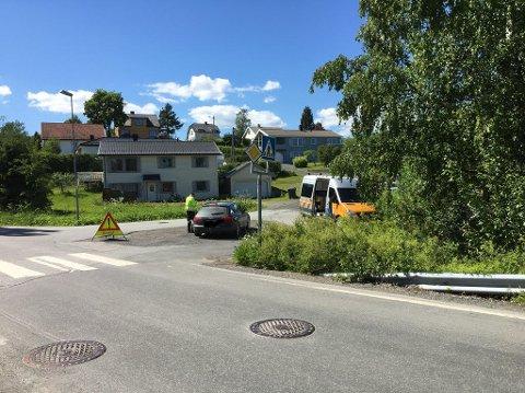 KONTROLL: Nesten 500 kjøretøy ble kontrollert i trafikkontroll i Gjøvik lørdag.