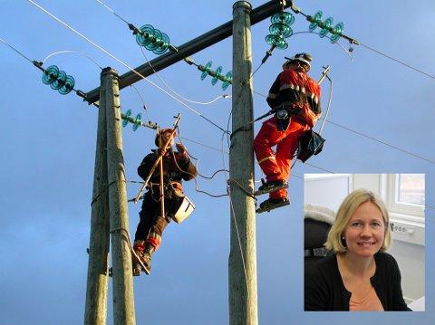 Anne Sagstuen Nysæther opplyser at Eidsiva går over til automatisk utbetaling av kompensasjon ved strømbrudd