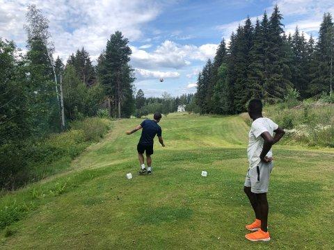 I fjor åpnet Land Golfklubb den første godkjente fotballgolfbanen i Oppland.