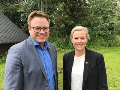 Even Aleksander Hagen og Kjersti Bjørnstad