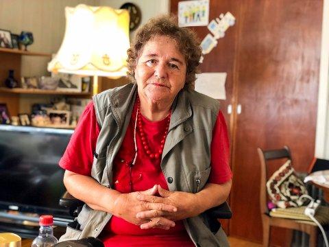 ØNSKER BESØKSVENN: Inger Smith Hjertø (78) sliter som mange andre med ensomhet. Hun tror besøksvenner kan bli redningen.