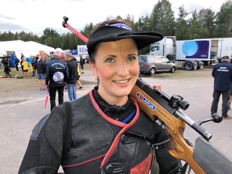 Anne Ingeborg Sogn Øiom skjøt 244 poeng i det aller siste laget sent tirsdag kveld.