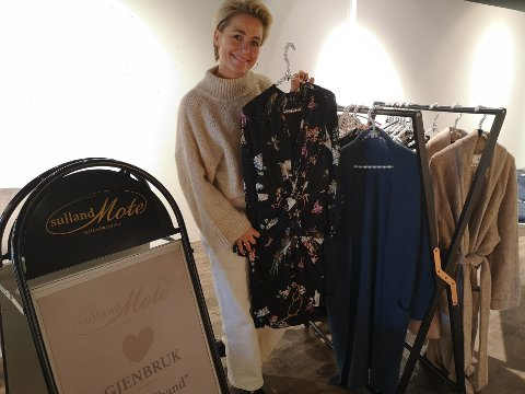 Unn Beathe Sulland sier at de solgte nesten bort alle bruktklærne den første dagen.