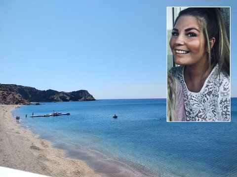 UVISS HJEMREISE: Guro Bjeglerud Sandberg (23) fra Dokka vet ikke om hun kommer seg hjem førstkommende torsdag.