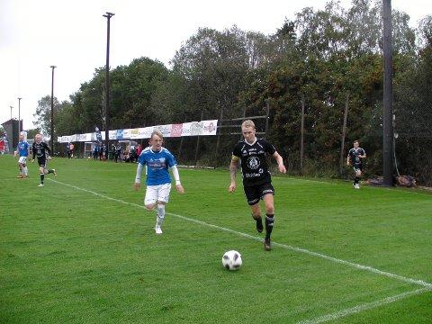 Henrik Gramm Myhre sørget for at Kolbu/KK fikk med seg ett poeng hjem fra Sander.