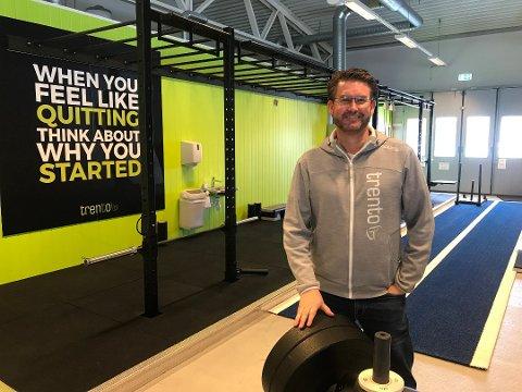 MERKER NEDGANG: Stig Nyengen, eier og daglig leder av treningssenterkjeden Trento, sier at de har merket nedgang i medlemstallet.
