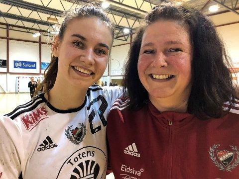 Åse Marit Bekkelund har vært trener for datteren Ellen i alle år. Nå har hun også blitt en del av trenerteamet på 2. divisjonslaget til Skreia, sammen med en annet håndball-legende fra Toten - Julie «Lulle» Løkkebakken.