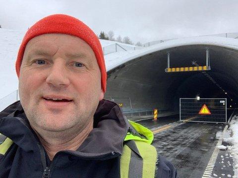 SKANDALE: Ordfører Vidar Eltun karakteriserer tunnelprosjektete på E16 som en skandale. FOTO: INNSENDT