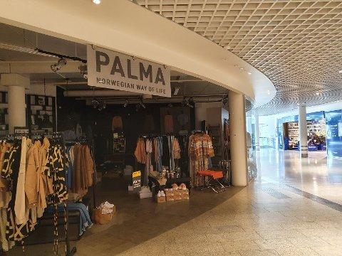 SLUTT: Palma på CC Gjøvik gir seg. – Trist, sier Kirsti Aarvold, som har drevet butikken.