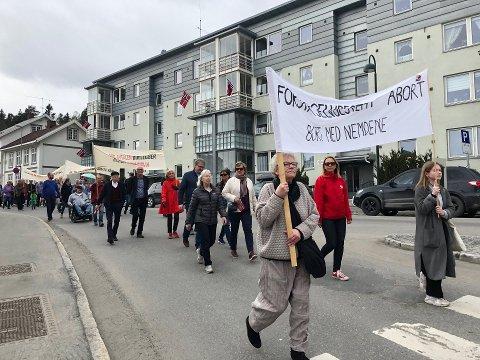 IKKE I ÅR: Det blir ingen tog i gatene. 1. mai 2020 blir heldigital. ARKIVBILDE