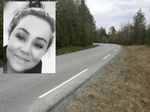 SKUMMELT: Linda Marie Stensrud (33) tør ikke tenke på hva som kunne skjedd dersom barna ikke hadde klart å komme seg ut av vegbanen i tide.