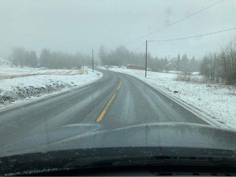 SNØ: I morgen kan det komme snø i Vestoppland.