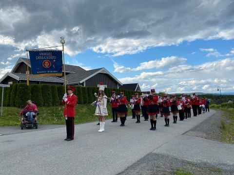 Vardal Skolekorps på Skoglundfeltet