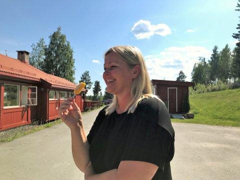 JOBB: - Vi har en stor jobb foran oss, men vi skal gradvis bygge tillit og mobilisere de som sitter på gjerdet, sier partisekretær Kjersti Stenseng om Aps oppslutning i Innlandet.