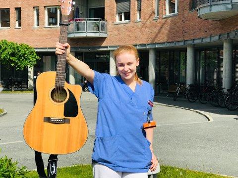 SOMMERARTIST: Sigrid Strand er en av artistene du møter under sommerens Mårrastund-konserter på Kapp.