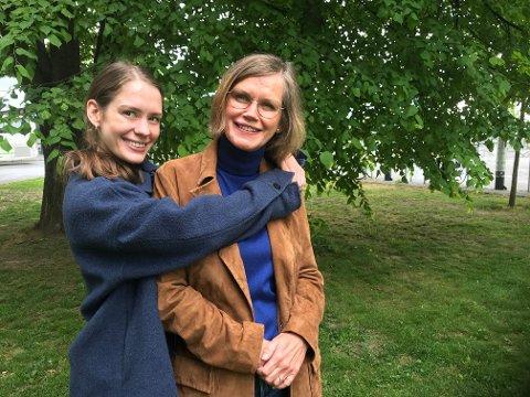 MOR OG DATTER: Det har alltid vært tette bånd mellom Anna Lotterud og moren Else Marie Olasveen som i årenes løp alltid har støttet og inspirert hverandre.