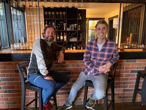 NYE EIERE: Sigmund Hagen og Angelo Collura kjøper sammen halvparten av selskapet som blant annet eier Spåtind Fjellstue. De to har sittet i styret siden januer.